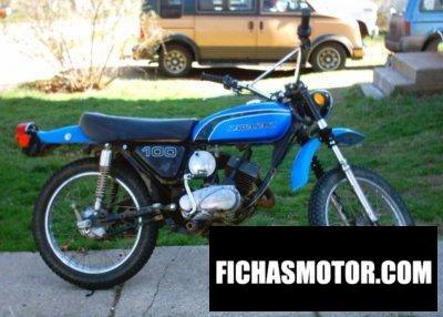 Imagen moto Kawasaki 100 g 7 t año 1973