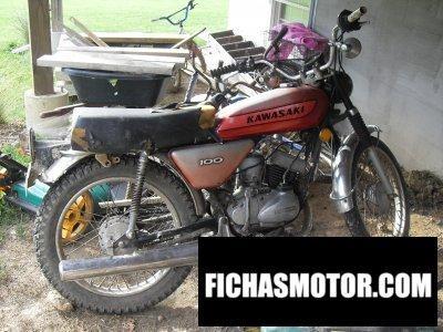 Ficha técnica Kawasaki 100 g 7 t 1974