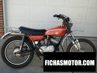 Ficha técnica Kawasaki 100 g4tr 1972