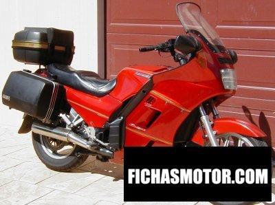 Ficha técnica Kawasaki 1000 gtr 1990