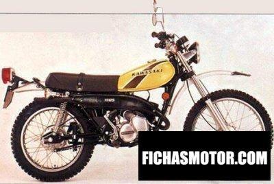 Imagen moto Kawasaki 125 ks año 1974