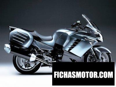 Ficha técnica Kawasaki 1400 gtr 2008