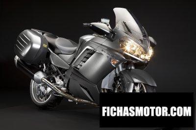 Ficha técnica Kawasaki 1400 gtr 2009