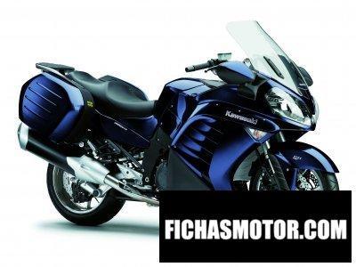 Imagen moto Kawasaki 1400 gtr año 2010