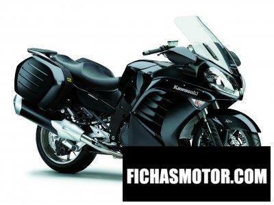 Ficha técnica Kawasaki 1400 gtr 2011