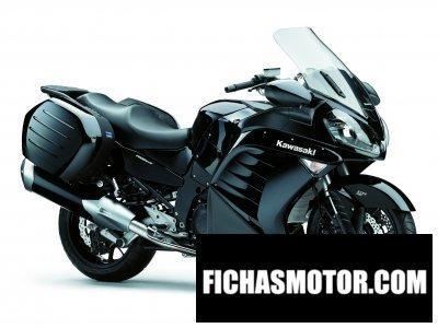 Ficha técnica Kawasaki 1400 gtr 2012