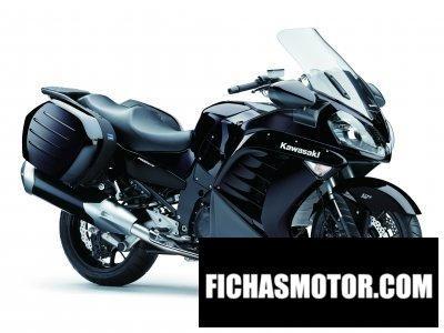 Ficha técnica Kawasaki 1400 gtr 2014