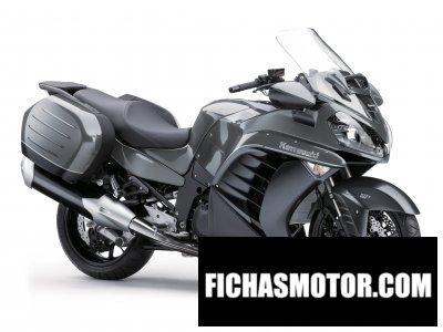 Ficha técnica Kawasaki 1400 gtr 2015