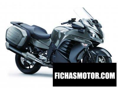Ficha técnica Kawasaki 1400 gtr 2016
