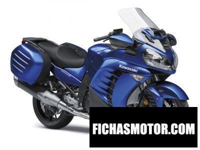 Ficha técnica Kawasaki 1400 gtr 2017