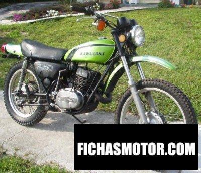 Ficha técnica Kawasaki 250 f 11 1972