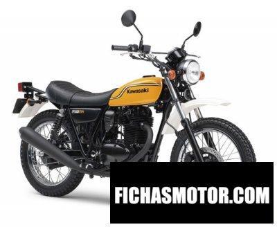 Ficha técnica Kawasaki 250 tr 2012