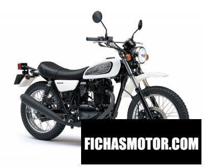 Ficha técnica Kawasaki 250tr 2011