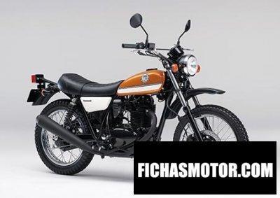 Ficha técnica Kawasaki 250tr 2014