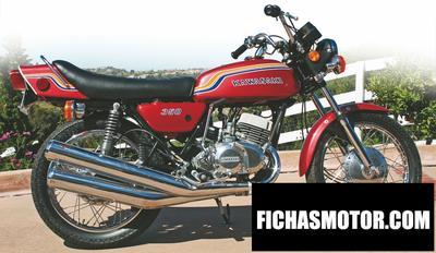 Imagen moto Kawasaki 350 s 2 mach ii año 1971