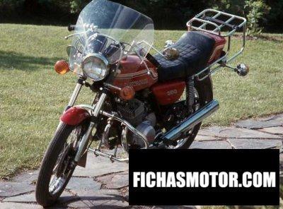 Ficha técnica Kawasaki 350 s 2 mach ii 1973