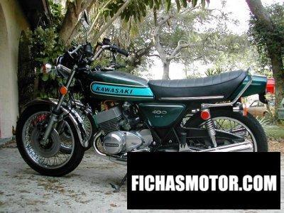 Imagen moto Kawasaki 400 s 3 mach ii año 1974