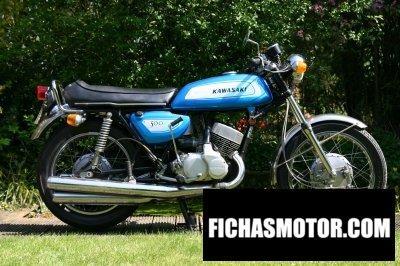 Ficha técnica Kawasaki 500 h 1 mach iii 1971