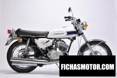 Imagen moto Kawasaki 500 h1 año 1969