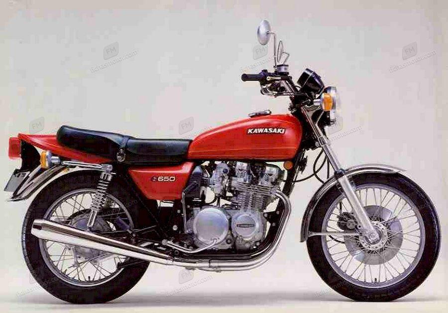 Imagen moto Kawasaki 650 d - 650 sr año 1978