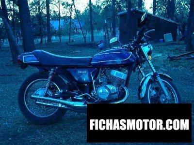 Imagen moto Kawasaki 750 h 2 mach iv año 1974