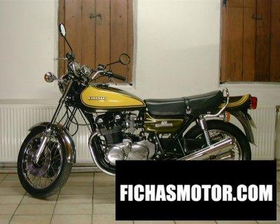 Imagen moto Kawasaki 900 z 1 super 4 año 1972