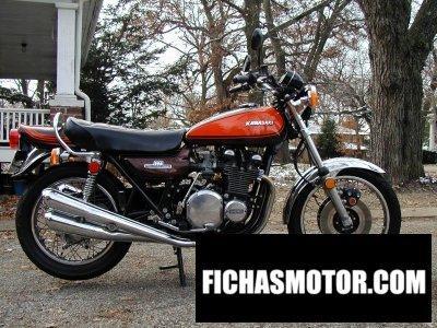 Imagen moto Kawasaki 900 z 1 super 4 año 1973
