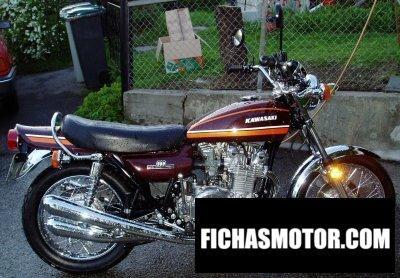 Imagen moto Kawasaki 900 z 1 super 4 año 1974