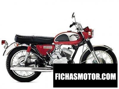Ficha técnica Kawasaki a7 avenger 1967