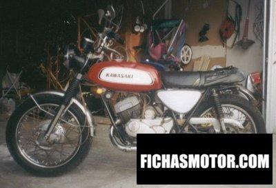 Ficha técnica Kawasaki a7 avenger 1970