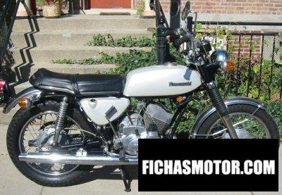 Imagen moto Kawasaki a7 avenger año 1971