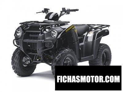 Ficha técnica Kawasaki brute force 300 2013