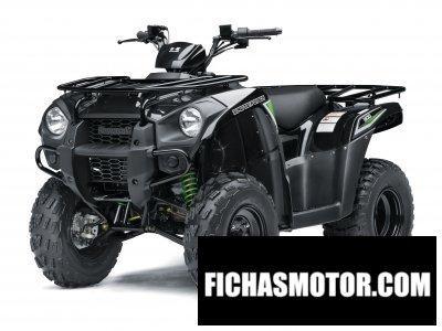 Ficha técnica Kawasaki brute force 300 2016
