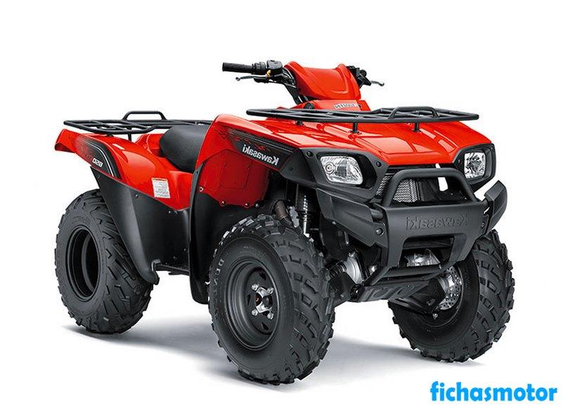 Ficha técnica Kawasaki brute force 650 4x4 2010