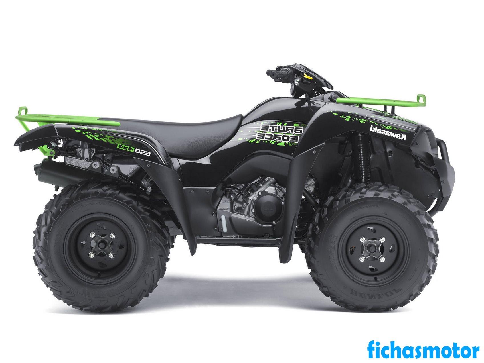 Imagen moto Kawasaki brute force 650 4x4 año 2011