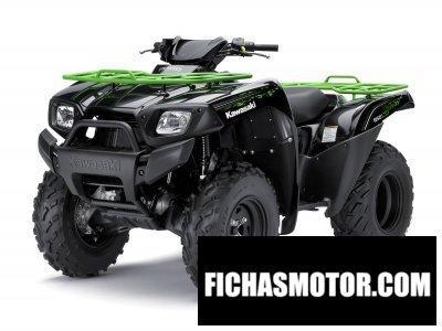 Ficha técnica Kawasaki brute force 650 4x4 2012