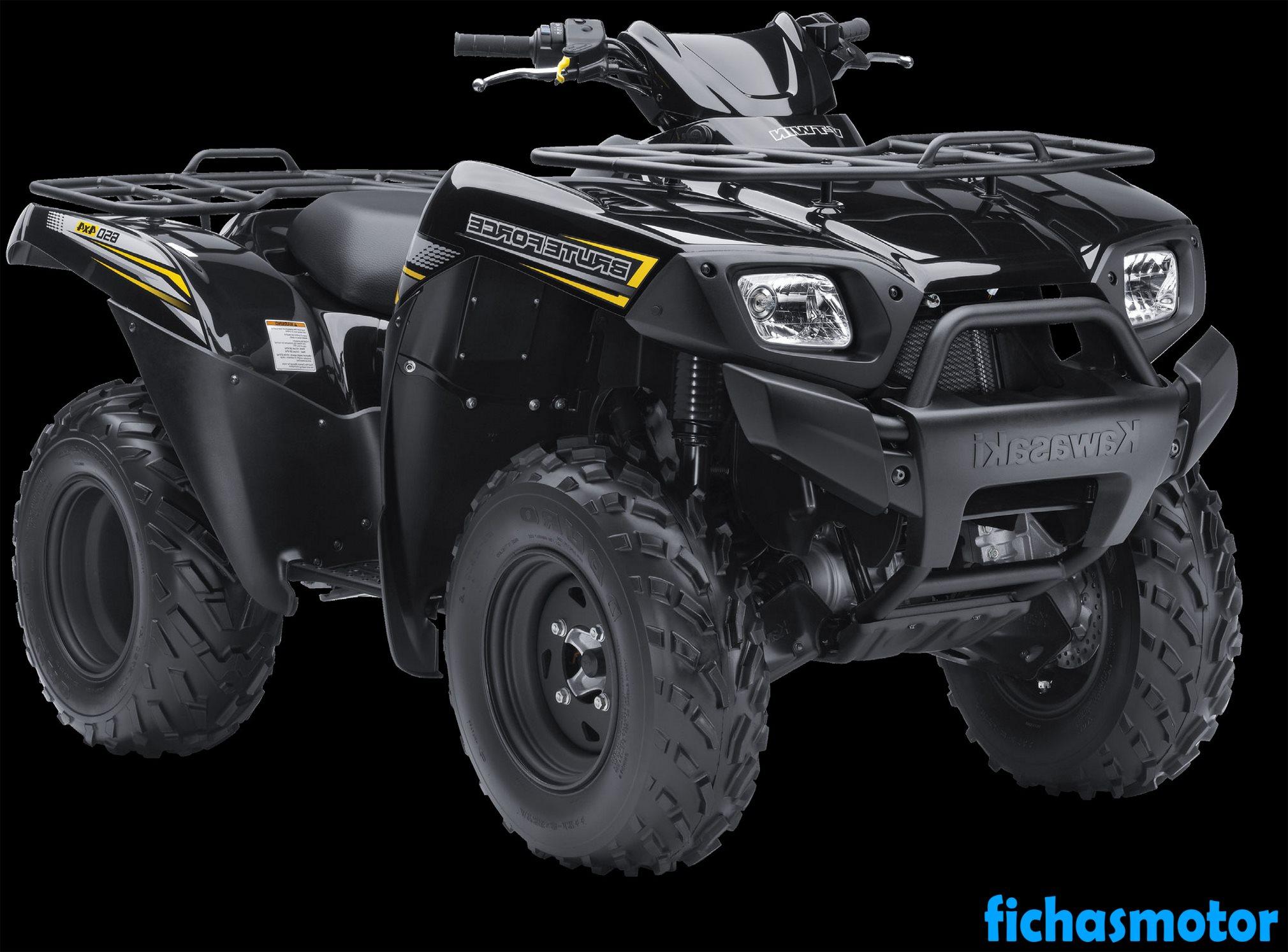 Ficha técnica Kawasaki brute force 650 4x4 2013