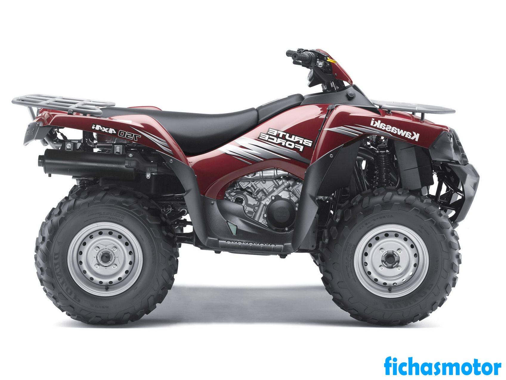 Ficha técnica Kawasaki brute force 750 4x4i 2011