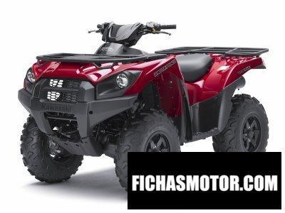 Ficha técnica Kawasaki brute force 750 4x4i 2012