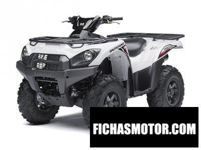 Ficha técnica Kawasaki brute force 750 4x4i 2014