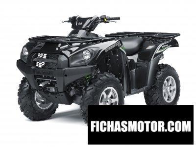 Ficha técnica Kawasaki brute force 750 4x4i 2016