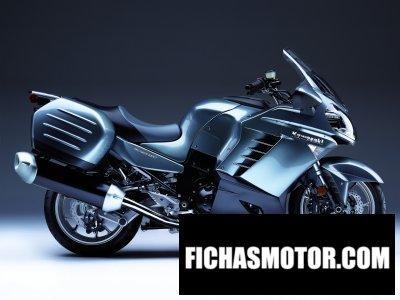 Imagen moto Kawasaki concours 14 año 2008
