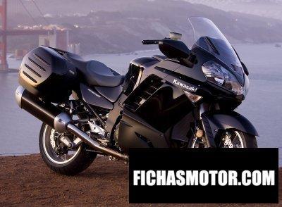Imagen moto Kawasaki concours 14 año 2009