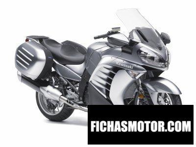 Ficha técnica Kawasaki concours 14 2011