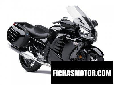 Ficha técnica Kawasaki concours 14 abs 2013