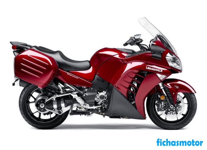 Ficha técnica Kawasaki concours 14 abs 2014