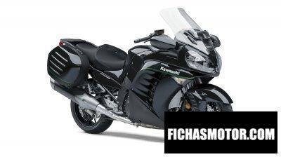 Ficha técnica Kawasaki concours 14 abs 2018