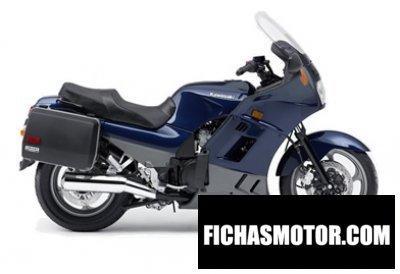 Imagen moto Kawasaki concours año 2006