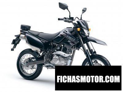 Ficha técnica Kawasaki d-tracker 125 2010