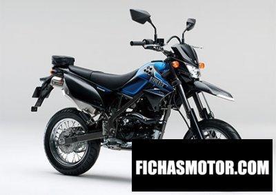 Imagen moto Kawasaki d-tracker 125 año 2015